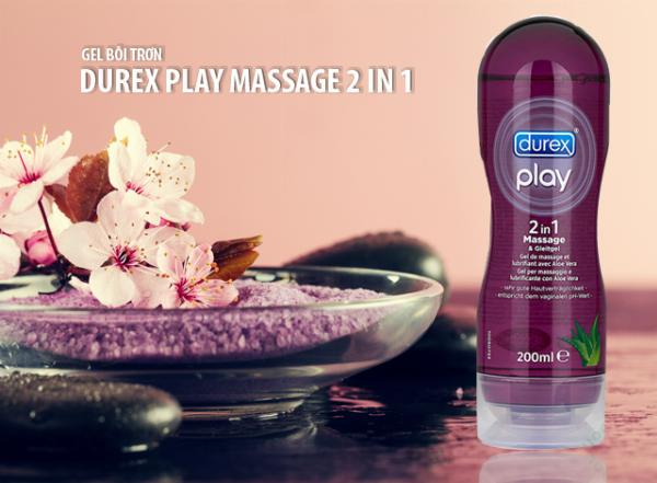 GEL BÔI TRƠN DUREX MASSAGE AND PLAY 2 IN 1